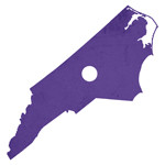 North Carolina is purple. Period.