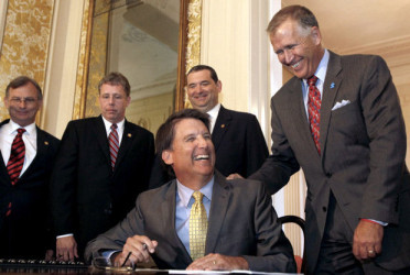 Tillis and McCrory: Role reversals and makeovers