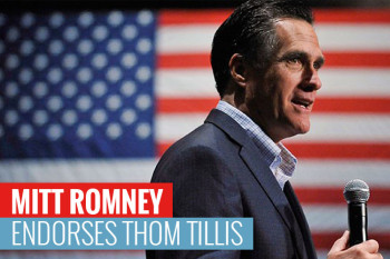 Romney Back on the Campaign Trail for Tillis