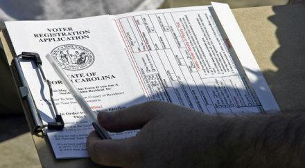 Voter Registration Update: 5% Increase Since 2013