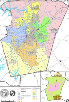 Barefoot Bill Would Redraw Wake Commission Districts