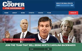 April Fool's: NC GOP Debuts Fake Cooper Website