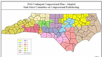 A look at North Carolina congressional districts
