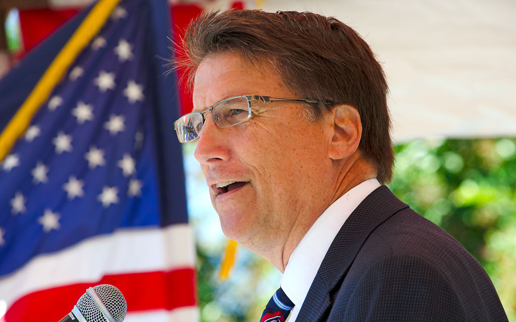 BREAKING: McCrory promises