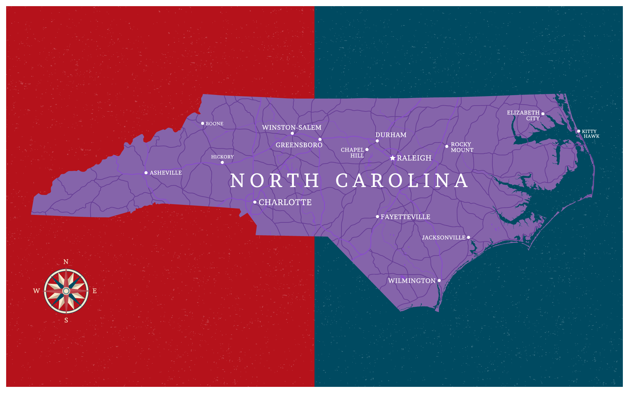 What happened to North Carolina