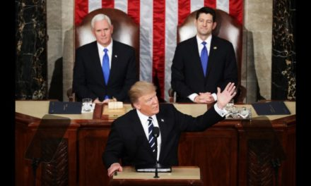 Trump's speech upended both parties last night