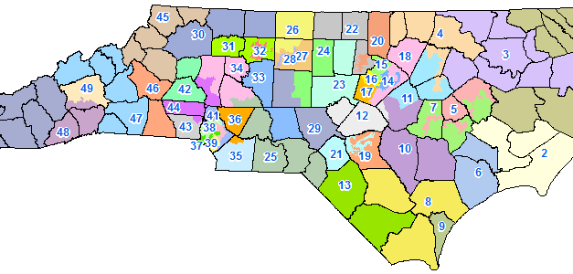 New districts, same as the old districts?