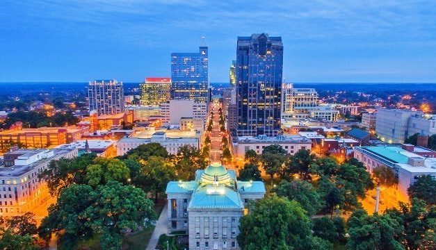 Where Raleigh stands