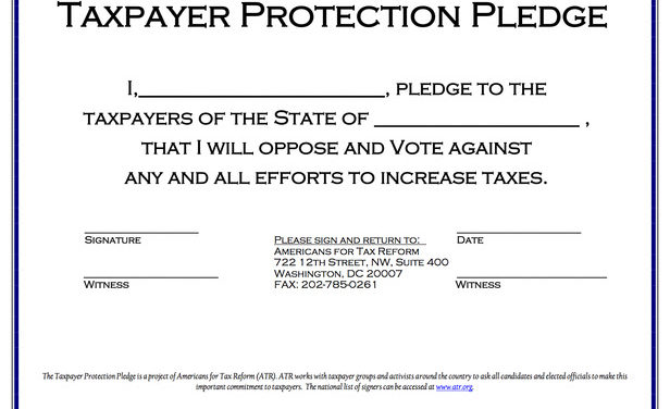 Beware of those pledges and petitions
